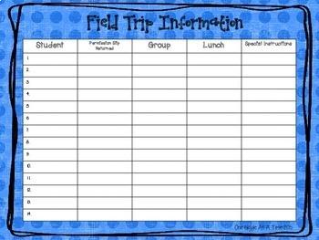The Ultimate Field Trip Organization Kit