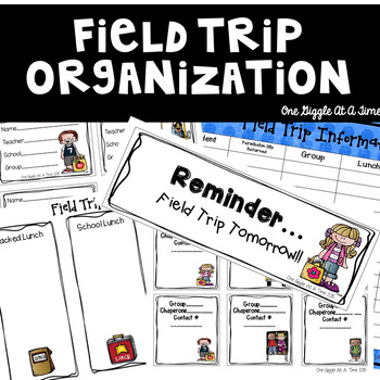 The Ultimate Field Trip Organization Kit