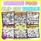 Ultimate Food Clip Art Bundle