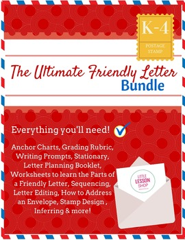 The Ultimate Friendly Letter Writing Bundle (All-inclusive pack!)