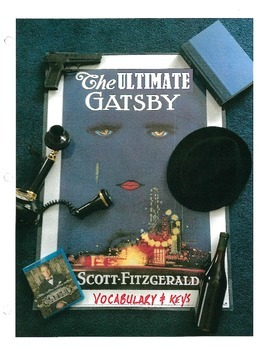 The Great Gatsby Ultimate Unit Vocabulary Packet