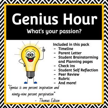 The Ultimate Genius Hour Pack