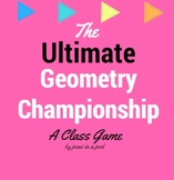 Volume, Area, Perimeter, Circumference Geometry Games for 6th and 7th Grade!
