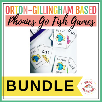 The Ultimate Go Fish! Phonics Games Bundle! Orton-Gillingham Inspired