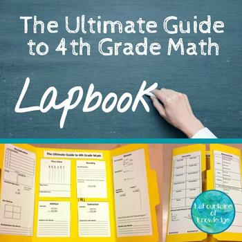 The Ultimate Guide to 4th Grade Math Review Lap Book