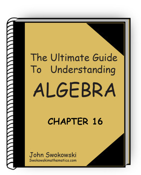 The Ultimate Guide to Understanding Algebra: Chapter 16