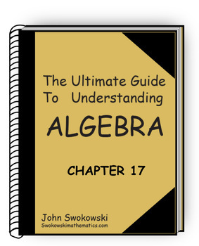 The Ultimate Guide to Understanding Algebra: Chapter 17