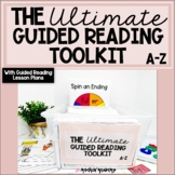 Guided Reading Activities BUNDLED with Guided Reading Lesson Plans A-Z