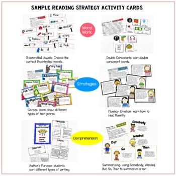 Guided Reading Activities Bundled with Guided Reading Lesson Plans O-Z