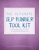 The Ultimate IEP Binder Tool Kit for Parents