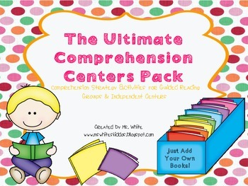 The Ultimate Interactive Comprehension Pack:Guided Reading & Independent Centers