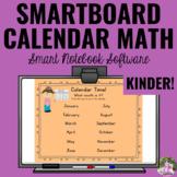 Interactive Calendar Math for SMART Board ~Kindergarten~