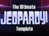 The Ultimate Jeopardy Template: Fully Editable!