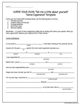 Job Interview Unit - Special Education High School (Print/Google)