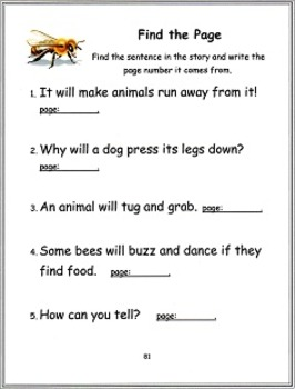 The Ultimate Journeys Comprehension Packet Collection Lesson 1-30, 1st Grade