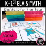 The Ultimate K-1st Literacy & Math Centers Bundle