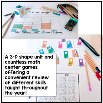 The Ultimate K-1st Math Centers Bundle {230+ pages of games and printables}