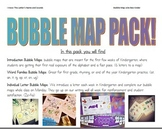 Alphabet & Word Families Bubble Map Pack