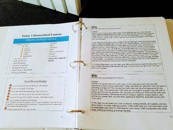 Homeschool Teacher Guide for September through December