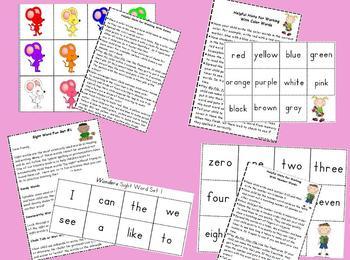 The Ultimate Kindergarten Homework Packet