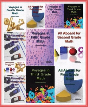 The Ultimate Kindergarten through Fifth Grade Math Differentiation Bundle