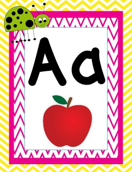 The Ultimate Ladybug and Chevron Classroom Pack