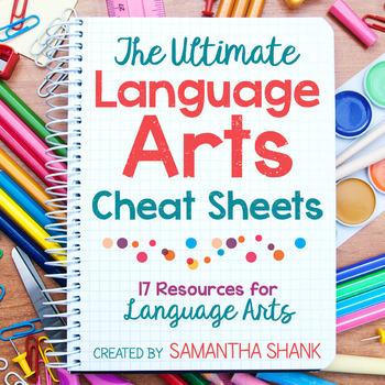 15 Language Arts Cheat Sheets