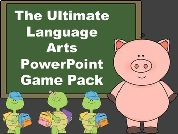 The Ultimate Language Arts PowerPoint Game Pack Bundle