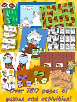 The Ultimate Grammar Centers Packet for Upper Elementary