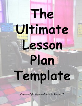 The Ultimate Lesson Planning Template