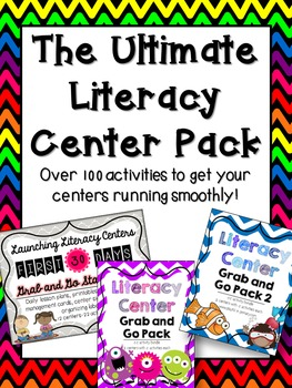 The Ultimate Literacy Center Pack