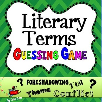 Literary Terms Guessing Game