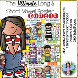 The Ultimate Long & Short Vowel Poster Bundle