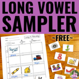 Long Vowel Activity SAMPLER