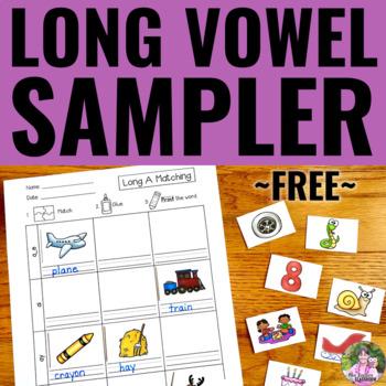 Long Vowel Activity SAMPLER