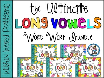 The Ultimate Long Vowel BUNDLE {Words Their Way ~ Within Word Patterns}