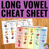 "Long Vowel ""Cheat Sheet"""