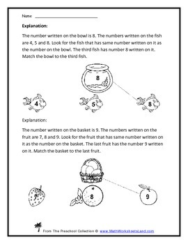 The Ultimate Matching Parts, Pairs, and Numbers Teacher Worksheet Pack
