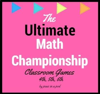 Math Games | Math Centers | Math Test Prep | Place Value, Multiplication, & MORE