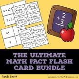 The Ultimate Math Fact Flash Card Bundle