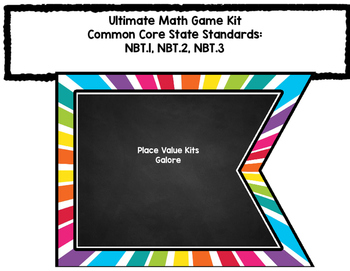 The Ultimate Math Game Kit # 1 - Place Value