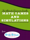 The Ultimate Math Games & Classroom Simulations Bundle with 2 FREE Math Products