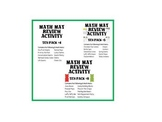 The Ultimate Math Mat Collection #2 on CD: Ten Packs #4, #5, and #8