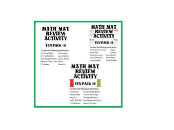 The Ultimate Math Mat Collection #2 on CD: Ten Packs #4, #