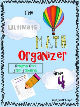 The Ultimate Math Organizer CCSS Grade 4