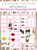CVC Printables Set: Montessori Language Bundle Pink Series