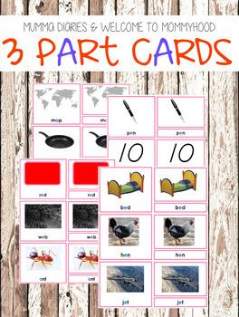 The Ultimate Montessori Language Bundle (Pink Series)