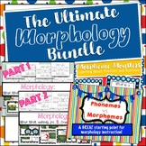 The Ultimate Morphology Bundle: Prefixes, Suffixes, Latin Roots, and More!