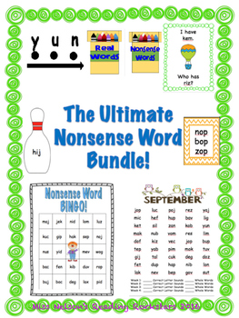 The Ultimate NWF Nonsense Word Bundle!