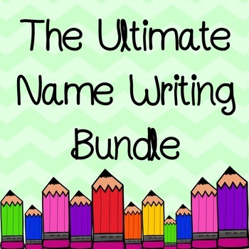 The Ultimate Name Writing Bundle